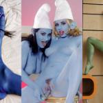 VoyeurFlash.com - Hot girls with body paint Vol. 1