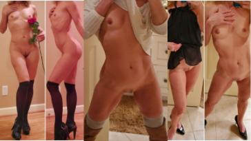 VoyeurFlash.com - Amateur Girl TheTiltedHalo nude