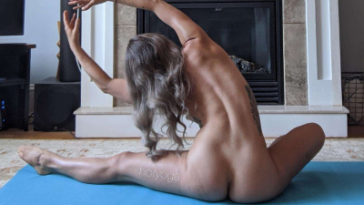 VoyeurFlash.com - Amateur Girl HotYoga nude