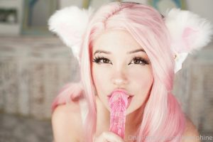 Belle Delphine Pink Dildo New Onlyfans Photos Leaked