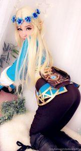 Belle Delphine Princess Zelda