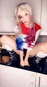 Belle Delphine as Harley Quinn OnlyFans