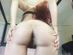 Haley420 Rare Hairy Pussy Photoset