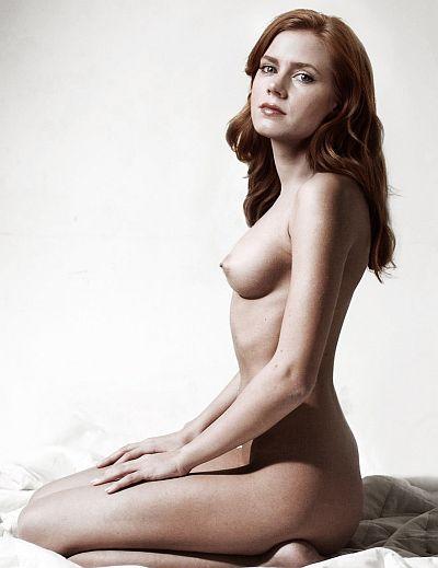 Amy Adams Nude Nice Boobs Posing