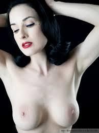 Dita Von Teese Nude Huge Boobs