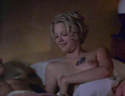 Drew Barrymore  Nude Boobs Caught on Camera