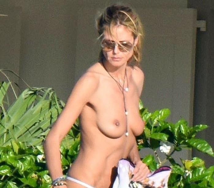 Heidi Klum Nude Perfect Tits