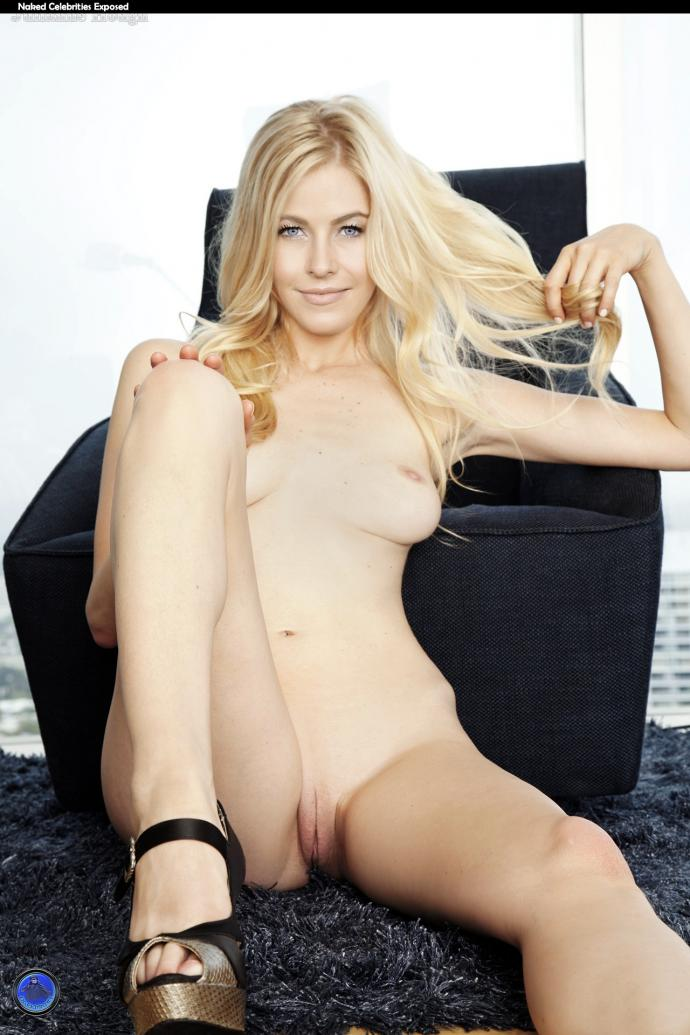 Julianne Hough Nude Shaved Pussy