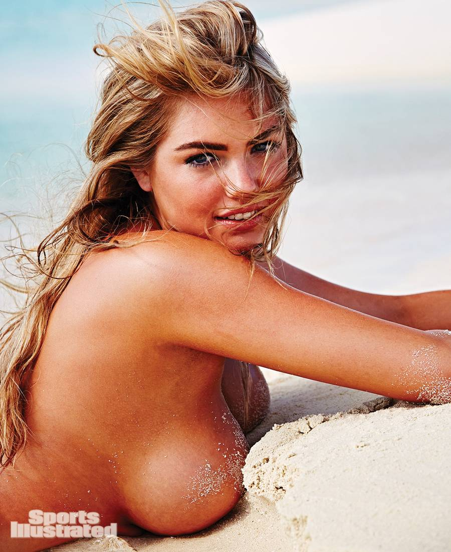 Kate Upton Nude Boobs Stuck In The Sand