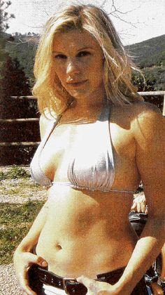 Katee Sackhoff Hot in Bikini Old Picture