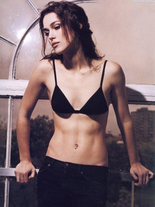 Keira Knightley Hot in a Sexy Outfit