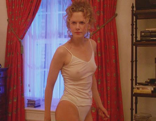 Nicole Kidman Boobs and Nipples See Through Shirt