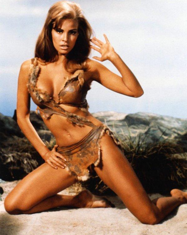 Raquel Welch Nude Wearing Natural Fur Bikini